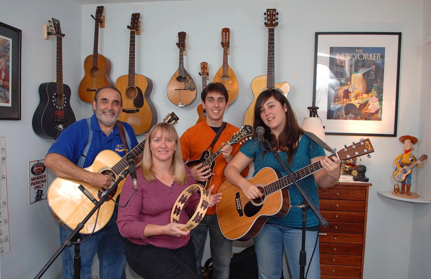 Keller family band 2008
